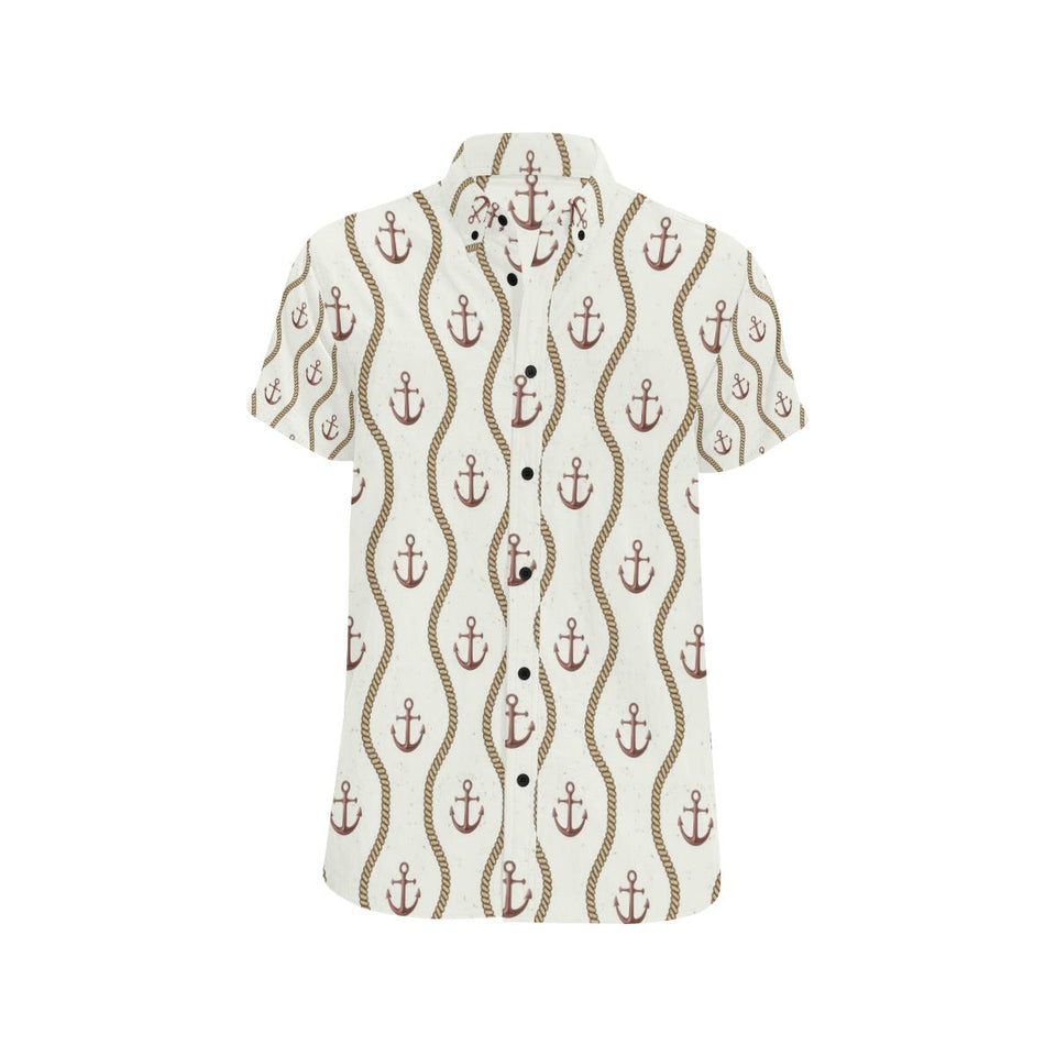 Anchor Classic Button Up Shirt-kunshirts.com