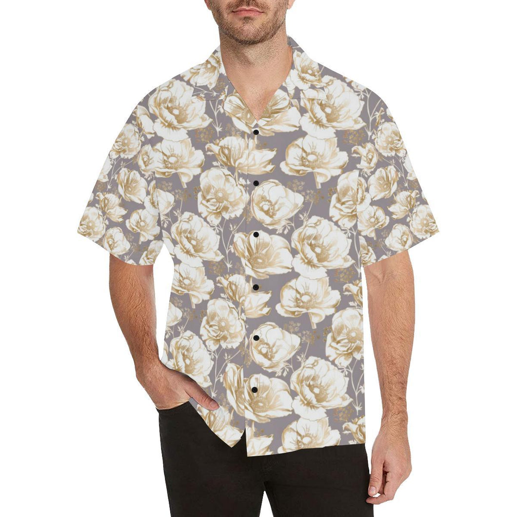 Anemone Pattern Print Design AM05 Hawaiian Shirt-kunshirts.com