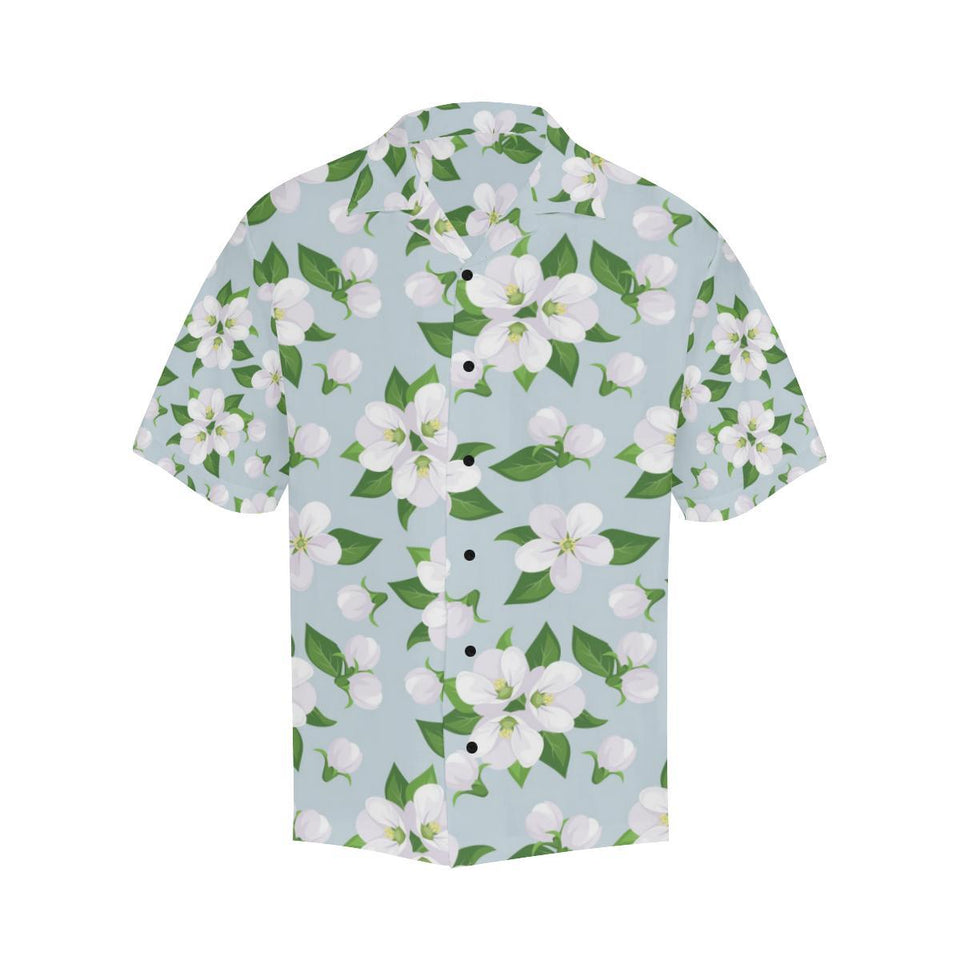 Apple blossom Pattern Print Design AB04 Hawaiian Shirt-kunshirts.com