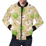 Apple Pattern Print Design AP07 Men Bomber Jacket-kunshirts.com