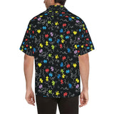 Autism Awareness Pattern Print Design 01 Hawaiian Shirt-kunshirts.com
