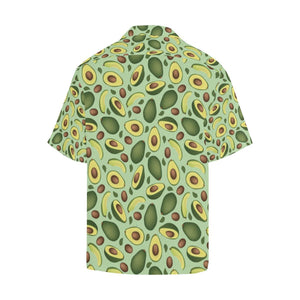 Avocado Pattern Print Design AC01 Hawaiian Shirt-kunshirts.com