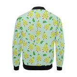 Avocado Pattern Print Design AC011 Men Bomber Jacket-kunshirts.com