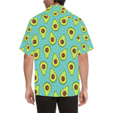 Avocado Pattern Print Design AC012 Hawaiian Shirt-kunshirts.com