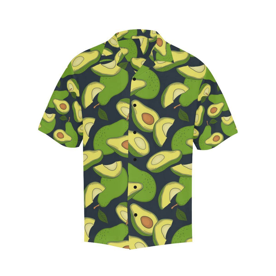 Avocado Pattern Print Design AC013 Hawaiian Shirt-kunshirts.com