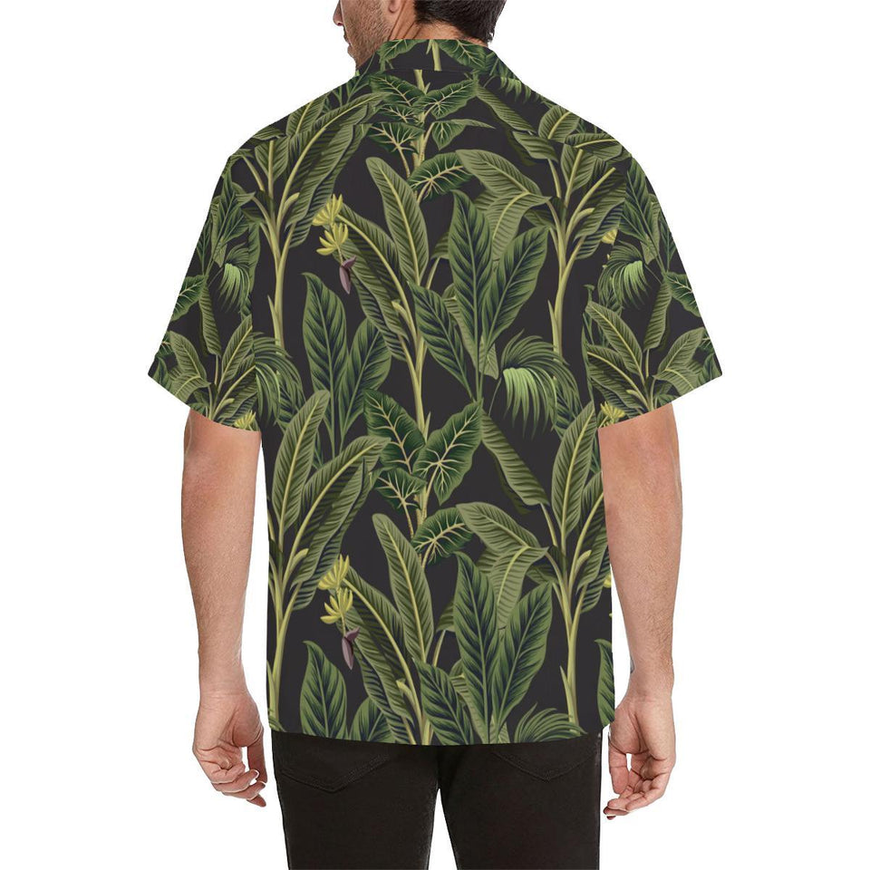 Banana Leaf Pattern Print Design BL04 Hawaiian Shirt-kunshirts.com