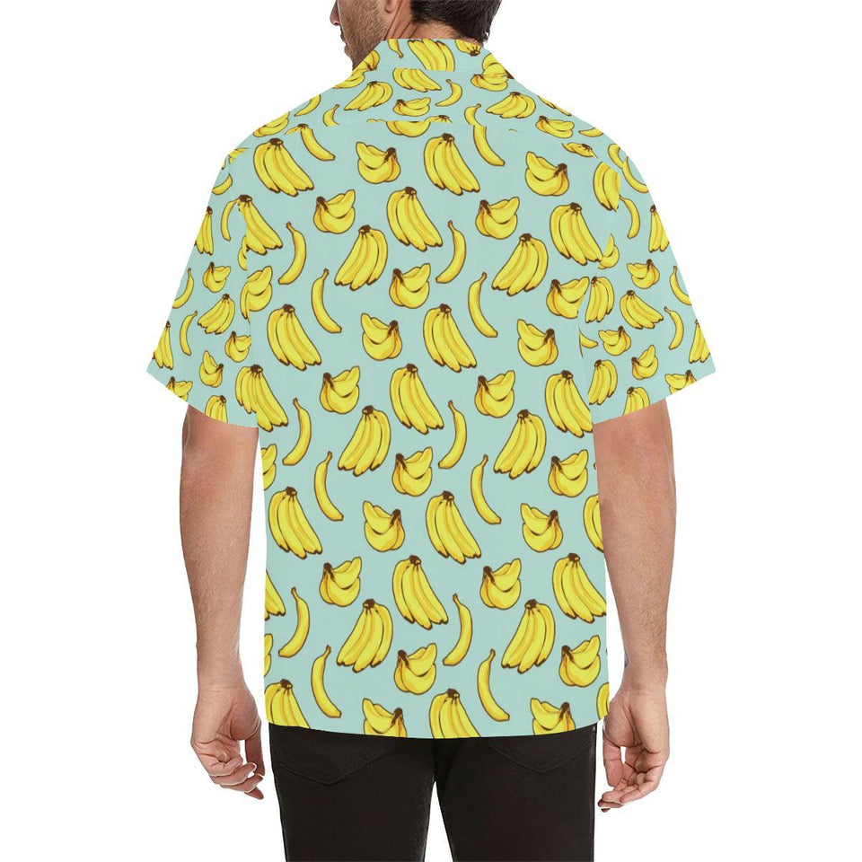 Banana Pattern Print Design BA04 Hawaiian Shirt-kunshirts.com