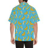 Banana Pattern Print Design BA08 Hawaiian Shirt-kunshirts.com