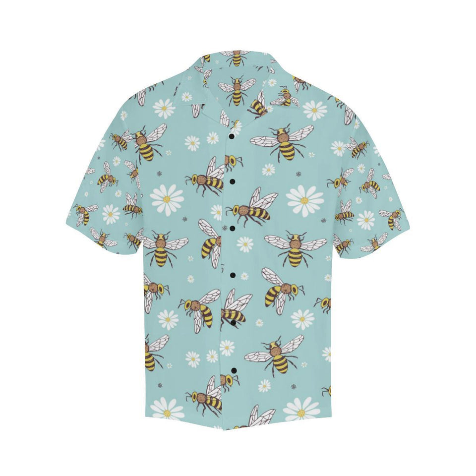 Bee Pattern Print Design BEE010 Hawaiian Shirt-kunshirts.com