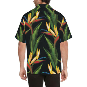 Bird Of Paradise Pattern Print Design BOP012 Hawaiian Shirt-kunshirts.com