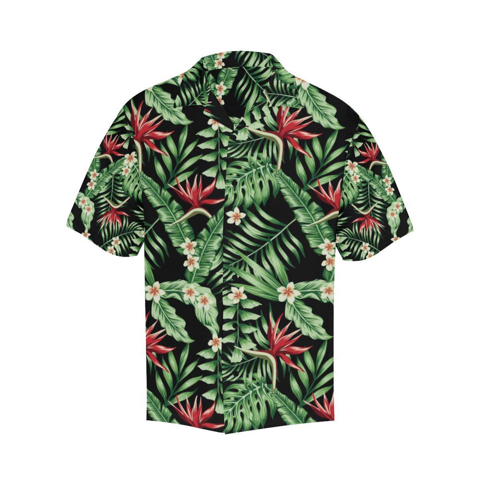 Bird Of Paradise Pattern Print Design BOP05 Hawaiian Shirt-kunshirts.com