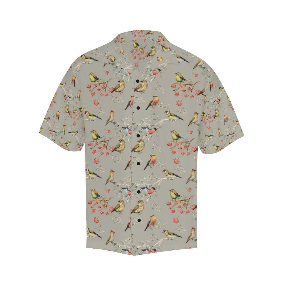 Birds Pattern Print Design 03 Hawaiian Shirt-kunshirts.com