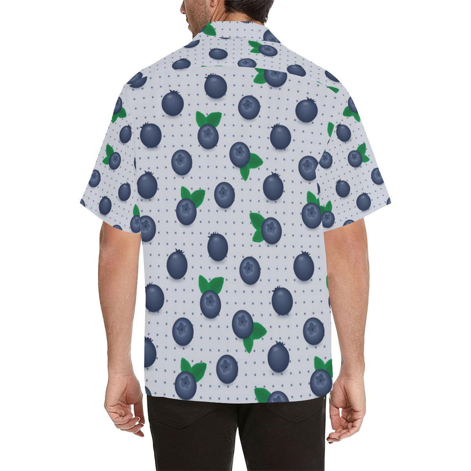 Blueberry Pattern Print Design BB02 Hawaiian Shirt-kunshirts.com