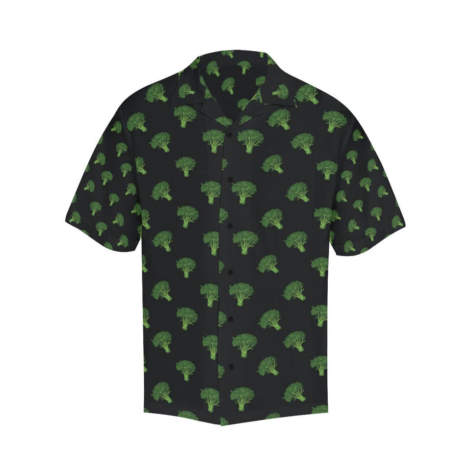 Broccoli Pattern Print Design 04 Hawaiian Shirt-kunshirts.com