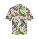 Butterfly Colorful Indian Style Hawaiian Shirt-kunshirts.com