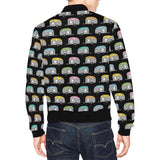 Camper Pattern Camping Themed No 2 Print Men Bomber Jacket-kunshirts.com