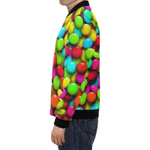 Candy Pattern Print Design CA03 Men Bomber Jacket-kunshirts.com
