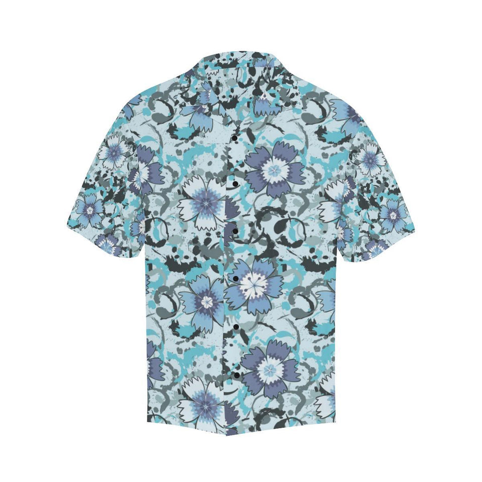 Carnations Pattern Print Design CN04 Hawaiian Shirt-kunshirts.com