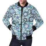 Carnations Pattern Print Design CN04 Men Bomber Jacket-kunshirts.com
