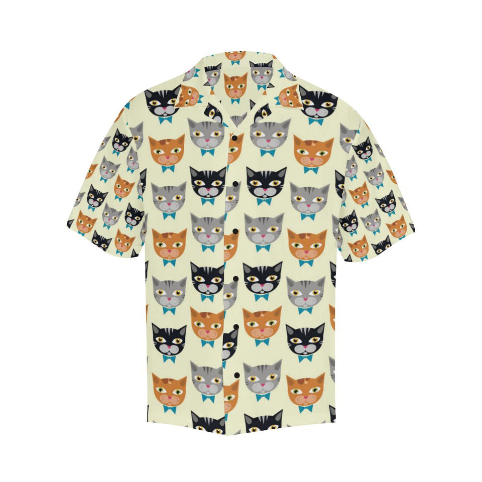 Cat Pattern Print Design 05 Hawaiian Shirt-kunshirts.com