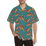 Cheesecake Cherry Pattern Print Design CK03 Hawaiian Shirt-kunshirts.com