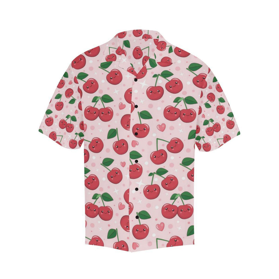 Cherry Pattern Print Design CH02 Hawaiian Shirt-kunshirts.com
