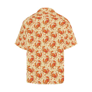 Crab Pattern Print Design 01 Hawaiian Shirt-kunshirts.com