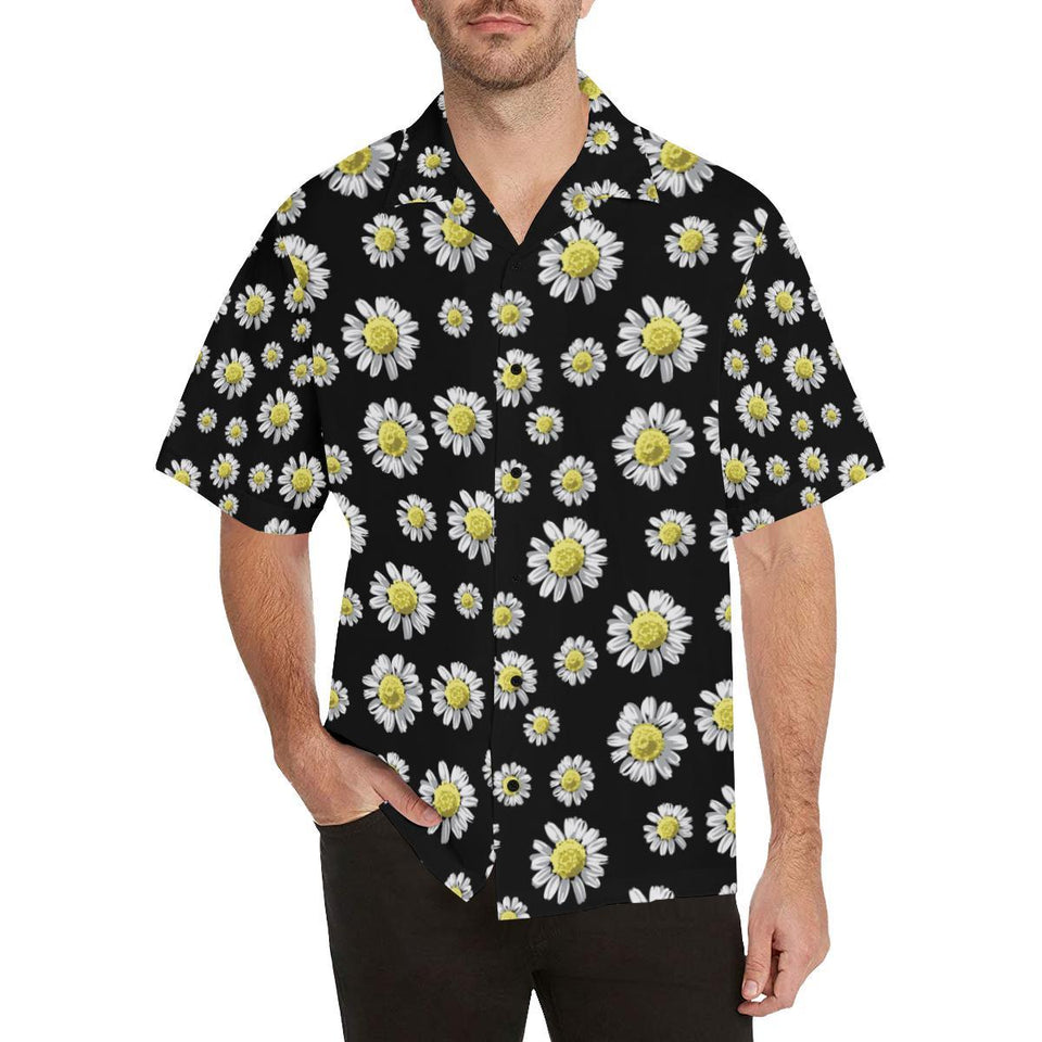 Daisy Pattern Print Design DS01 Hawaiian Shirt-kunshirts.com