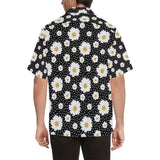 Daisy Pattern Print Design DS02 Hawaiian Shirt-kunshirts.com