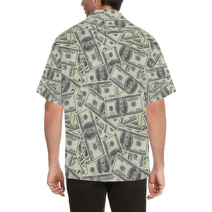 Dollar Pattern Print Design DO02 Hawaiian Shirt-kunshirts.com