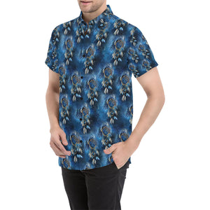 Eagles Dream Catcher Themed Button Up Shirt-kunshirts.com