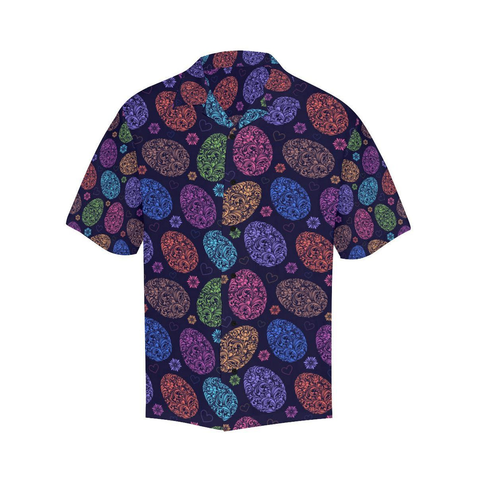 Easter Eggs Pattern Print Design RB012 Hawaiian Shirt-kunshirts.com