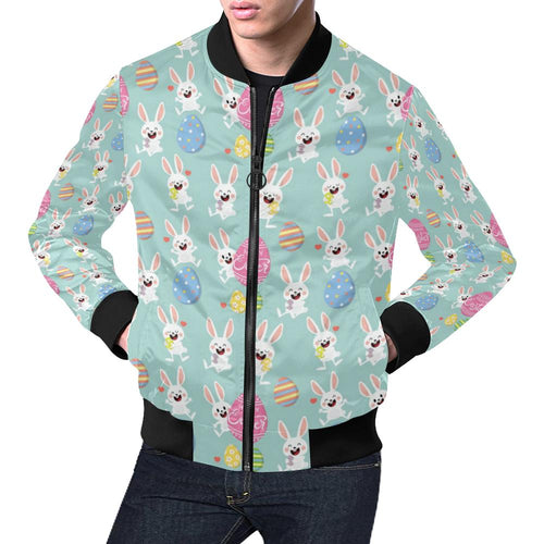 Easter Eggs Pattern Print Design RB014 Men Bomber Jacket-kunshirts.com