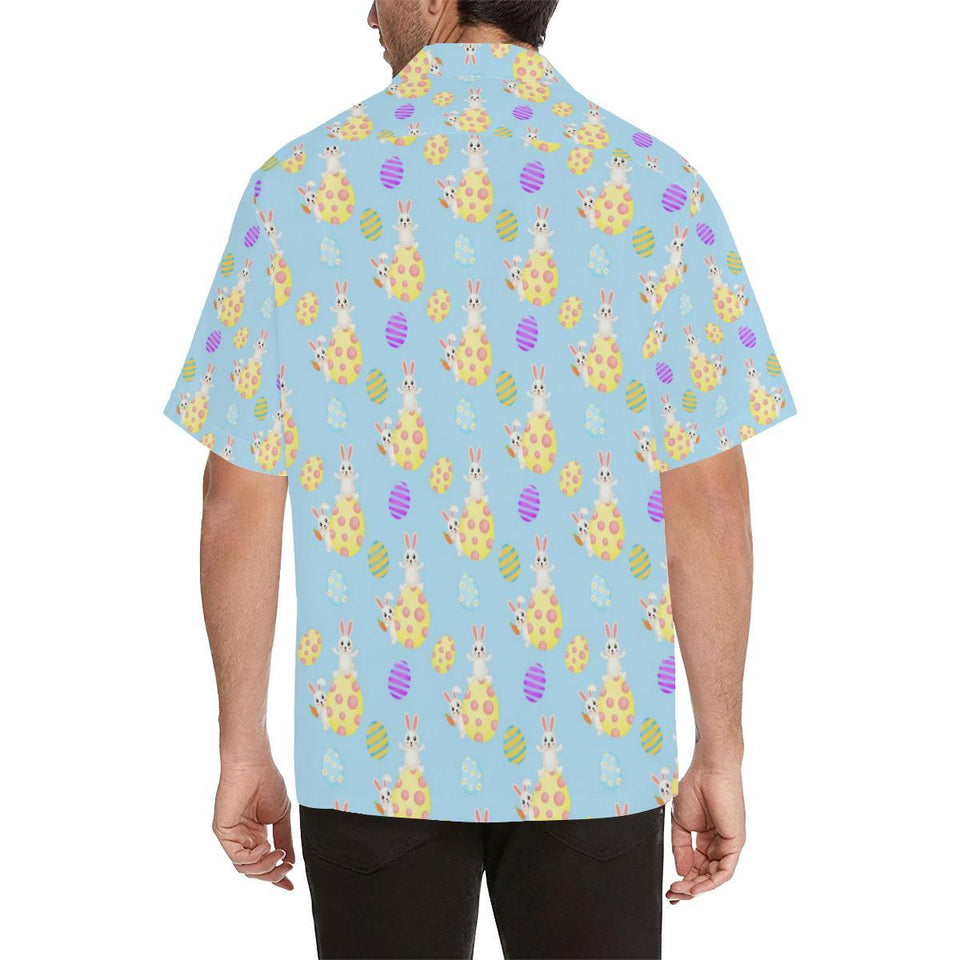 Easter Eggs Pattern Print Design RB015 Hawaiian Shirt-kunshirts.com