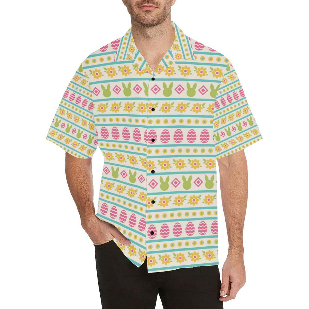 Easter Eggs Pattern Print Design RB016 Hawaiian Shirt-kunshirts.com