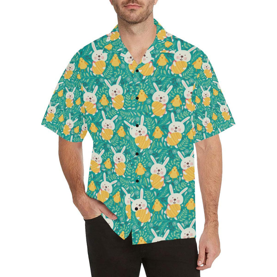 Easter Eggs Pattern Print Design RB02 Hawaiian Shirt-kunshirts.com