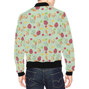 Easter Eggs Pattern Print Design RB07 Men Bomber Jacket-kunshirts.com
