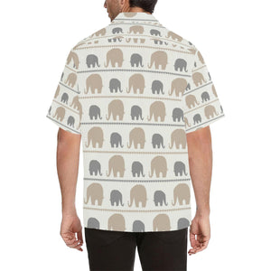 Elephant Cute Hawaiian Shirt-kunshirts.com