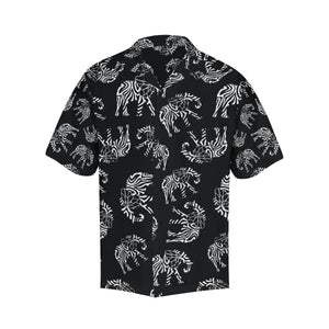 Elephant Tribal Hawaiian Shirt-kunshirts.com
