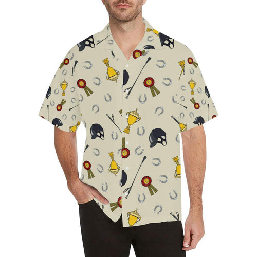Equestrian Horseshoe Equipment Hawaiian Shirt-kunshirts.com