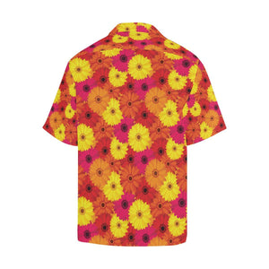 Gerberas Pattern Print Design GB05 Hawaiian Shirt-kunshirts.com