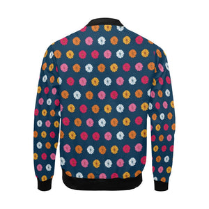 Gerberas Pattern Print Design GB06 Men Bomber Jacket-kunshirts.com