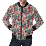 Grape Pattern Print Design GP01 Men Bomber Jacket-kunshirts.com
