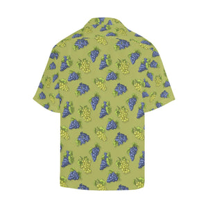 Grape Pattern Print Design GP08 Hawaiian Shirt-kunshirts.com