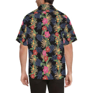 Hawaiian Themed Pattern Print Design H011 Hawaiian Shirt-kunshirts.com