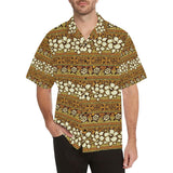 Hawaiian Themed Pattern Print Design H015 Hawaiian Shirt-kunshirts.com