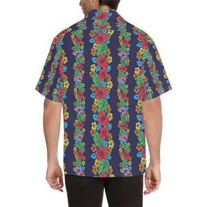 Hawaiian Themed Pattern Print Design H03 Hawaiian Shirt-kunshirts.com