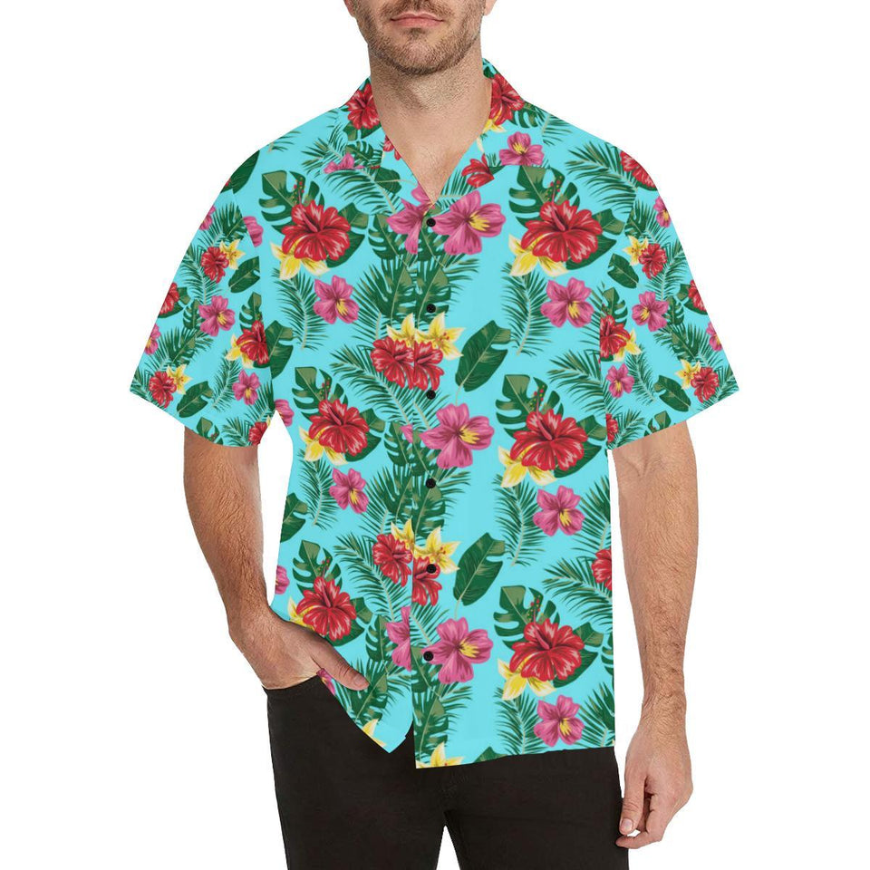 Hibiscus Hawaiian Flower Hawaiian Shirt-kunshirts.com