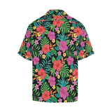 Hibiscus Red Hawaiian Flower Hawaiian Shirt-kunshirts.com