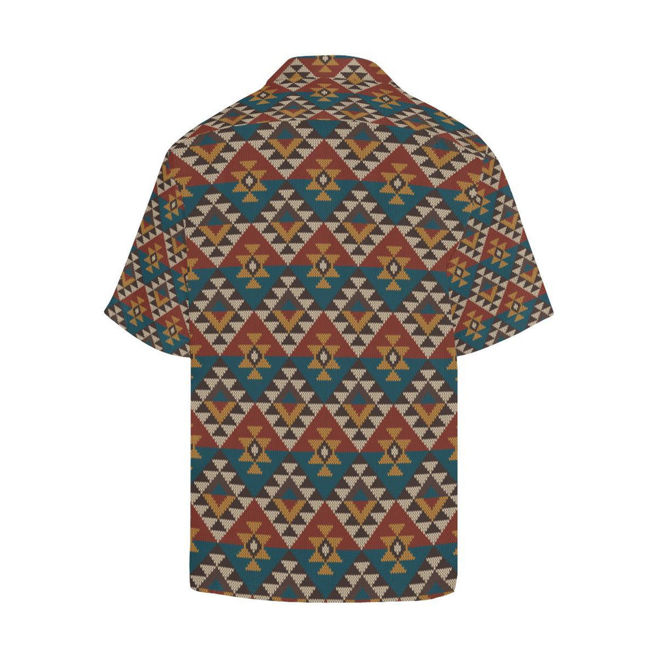 Knit Aztec Tribal Hawaiian Shirt-kunshirts.com